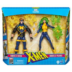 Hasbro Marvel Legends Series 6-inch Collectible Action Figures X-Men (2-Pack)