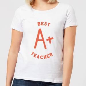 Best Teacher Women's T-Shirt - White