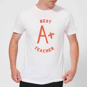 Best Teacher Men's T-Shirt - White