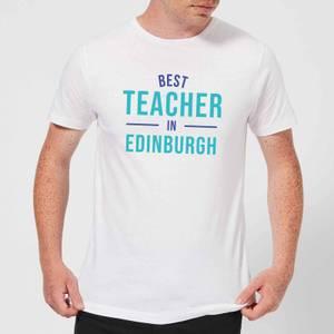 Best Teacher In Edinburgh Men's T-Shirt - White