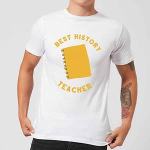 Best History Teacher Men's T-Shirt - White