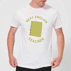 Best English Teacher Men's T-Shirt - White