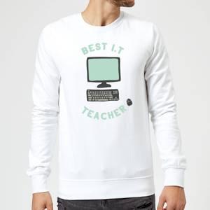 Best I.T Teacher Sweatshirt - White