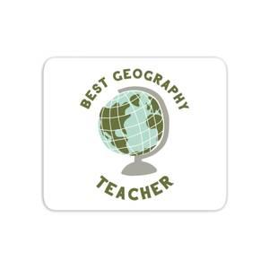 Best Geography Teacher Mouse Mat