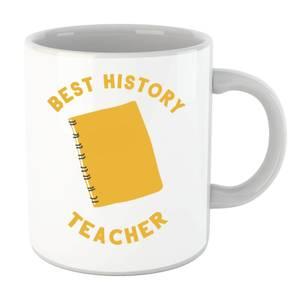 Best History Teacher Mug