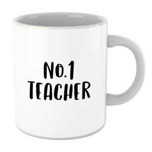 No.1 Teacher Mug