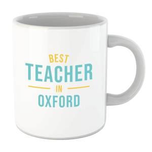 Best Teacher In Oxford Mug