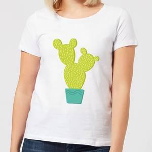 Tall Cactus Women's T-Shirt - White