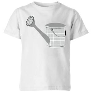 Watering Can Kids' T-Shirt - White