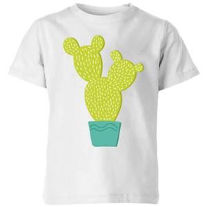 Tall Cactus Kids' T-Shirt - White