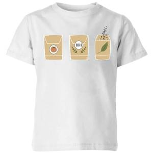Seed Packets Kids' T-Shirt - White