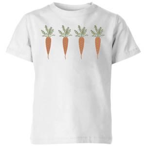 Carrots Kids' T-Shirt - White