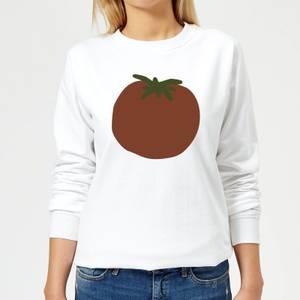 Tomato Women's Sweatshirt - White