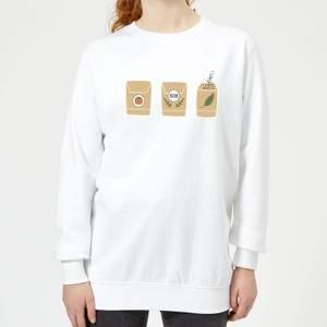 Seed Packets Women's Sweatshirt - White