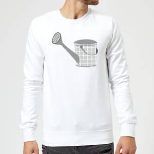 Watering Can Sweatshirt - White
