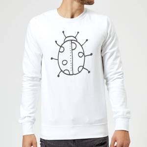 Ladybird Sweatshirt - White
