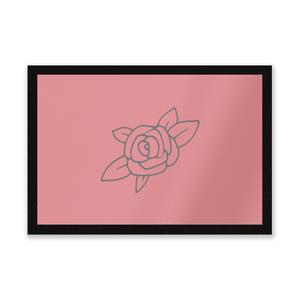 Rose Entrance Mat
