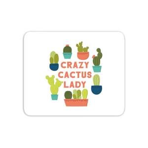 Crazy Cactus Lady Mouse Mat