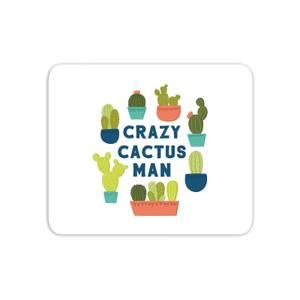 Crazy Cactus Man Mouse Mat