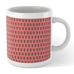 Tall PineTree Pattern Mug