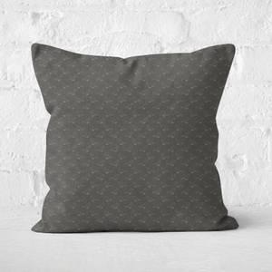 Bird Pattern Square Cushion