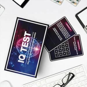 IQ Test Card Game