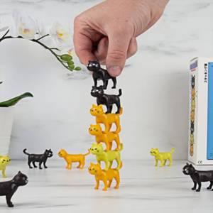 Katz-astrophe Stapeln-Spiel