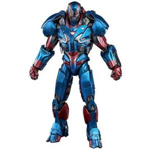 Hot Toys Avengers: Endgame Movie Masterpiece Series Diecast Action Figure 1/6 Iron Patriot 32cm