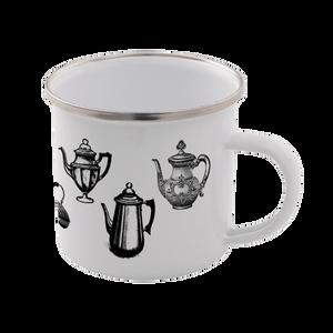 Kettles Enamel Mug – White