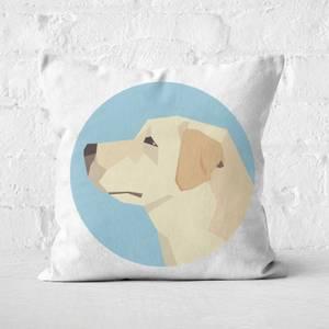 Golden Retriever Square Cushion