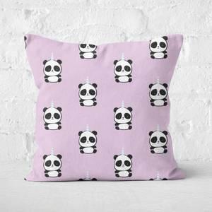 Pandacorn Pattern Square Cushion