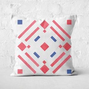 Aztec Pattern Square Cushion