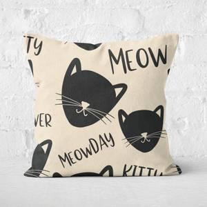 Meowday Square Cushion