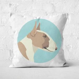 English Terrier Square Cushion