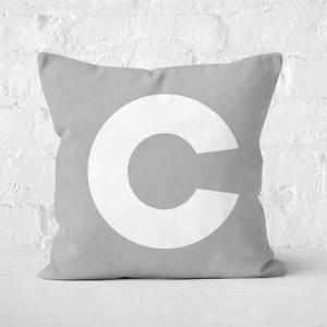 Letter C Square Cushion