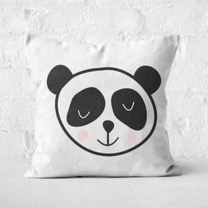 Panda Square Cushion