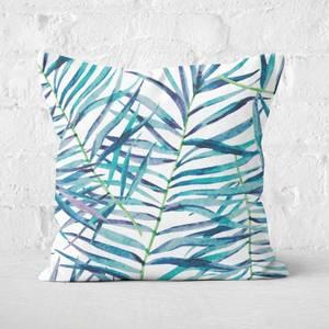 Botanical Pattern Square Cushion