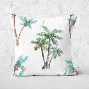 Palm Tree Square Cushion