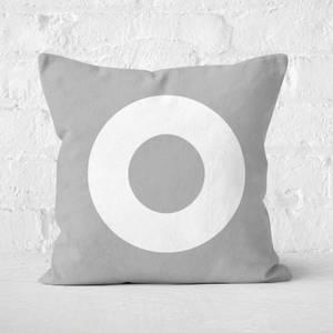 Letter O Square Cushion