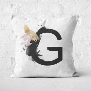 Wabi-Sabi G Square Cushion