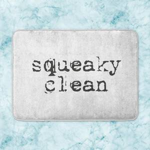 Squeaky Clean Bath Mat