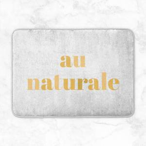 Au Naturale Bath Mat