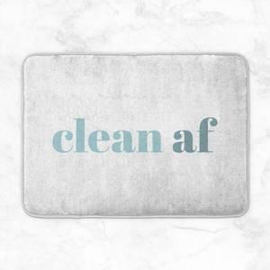 Clean AF Bath Mat