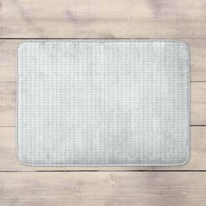 Grid Pattern Bath Mat
