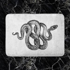 Knotted Snake Bath Mat