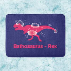 Bathosaurus Rex Bath Mat