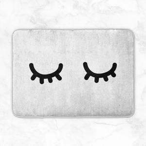 Eyelashes Bath Mat