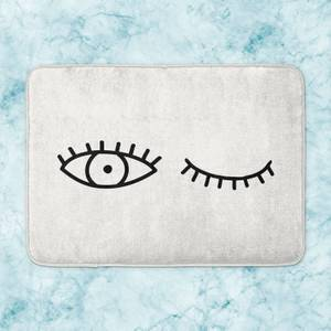 Wink Eye Bath Mat
