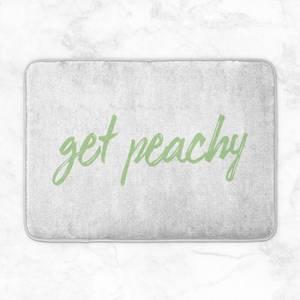 Get Peachy Bath Mat