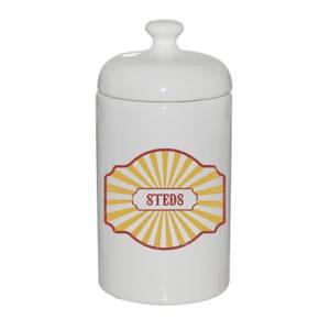Steds Ceramic Jar